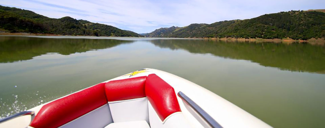 You can turn a calm day at the lake….