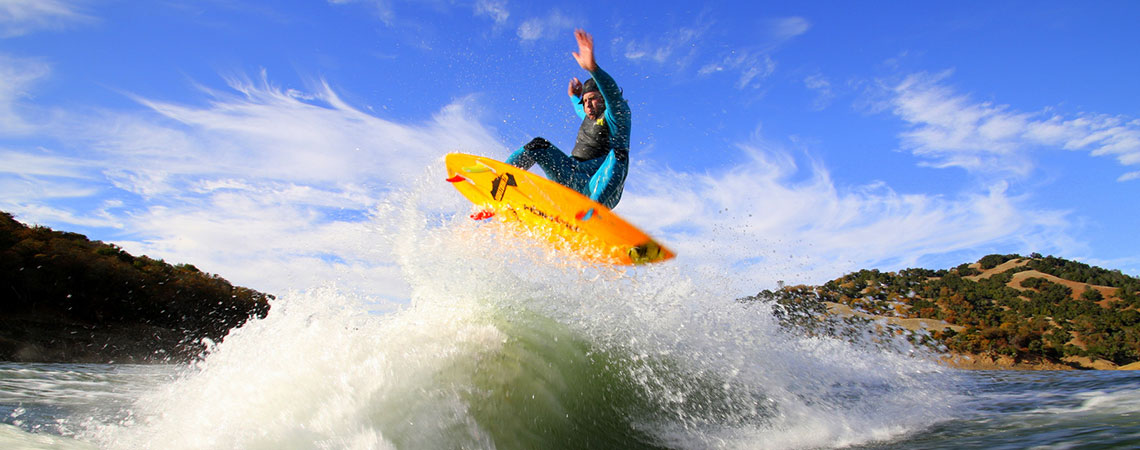 """The new SURF blade from SwitchBlade is amazing. You can't get a bigger, cleaner wake without it!"" -DJ JamesZ"